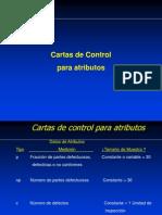 Cartas de Control Por Atributo