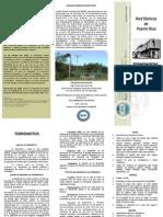 Terremoto Brochure