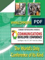Comm Dev 2007