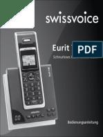 Swissvoice Eurit 748 Bedienungsanleitung