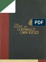 (1903) 43rd Regiment, Duke of Cornwall's Rifle