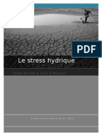 Le Stress Hydrique
