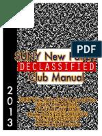 Club Organization Manual