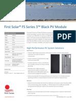 Black PV Module