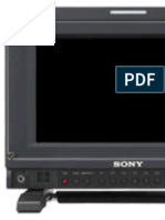 Sony PVM-740 Oled manual