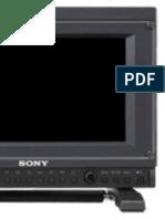 Sony PVM-741 Oled manual