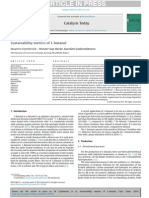 2014 , Sustainability Metrics of 1-Butanol