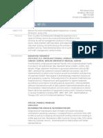 resume (radiation therapist)
