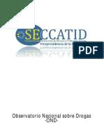 Estudio Nacional de Drogas en Adolescentes Guatemaltecos SECCATID