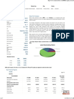 Fundamental Analysis-BHEL -Equity Research Report