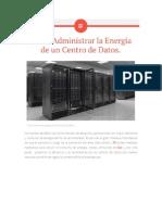 Como Gestionar La Energia de Un Data Center