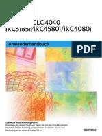 Manual CLC4040