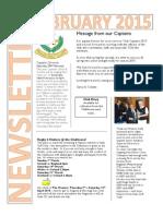 Naas Newsletter Feb 2015