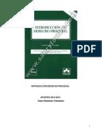 Apuntes Introducción Derecho Procesal.  T1-22. 2013-2014. Sonia.pdf