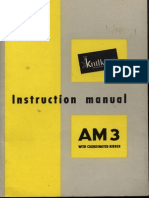 Knitking Knittax Am3 With Coordinated Ribber User Manual