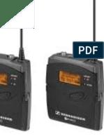 Sennheiser EW 112P G3 (CH38) manual