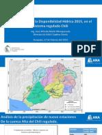 Exposición Disponibilidad Hídrica en Sistema Regulado Del Chili