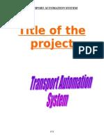 Transport Automation System