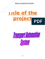 Transport Automation System