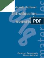 Battaner Eduardo - Introduccion a La Astrofisica