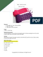 Alana Lacy Scarf (Free Crochet Pattern)