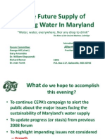 2014 CEPA Forum on Water Supply in MD 140530