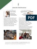 Seminar Repertoire 2015