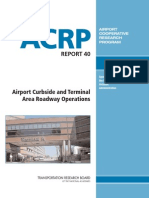 Airport Curbside and Terminal Area Roadway Operations ACRP