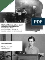 Startup Metrics-A Love Story