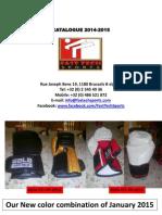 Catalogue 2014-2015