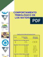 Comportamiento Tribologico de Los Materiales