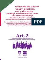 Libro Despenalización Aborto Uruguay