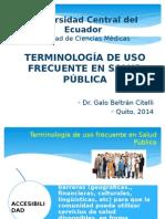 Terminología Salud Pública