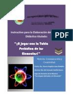 Elaboración de Instructivo de Material Didáctico
