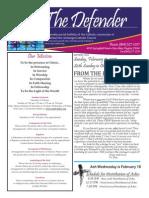 St Michael's Bulletin 02/15/2015