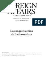 La Conquista China de Latinoamerica - R Evan Ellis y Ulises Granados