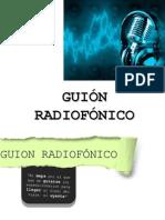 GUIÓN RADIOFÓNICO