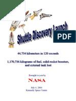 Shuttle Launch Flyer
