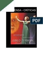 CRITICAS JÚBILO TERMINAL - 2015