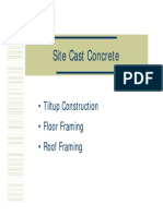 Site Prestress Concrete