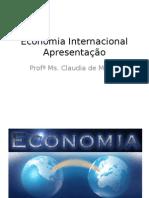 Apresentação Economia Internacional.ppt