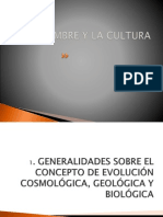 1. Evolucion Cosmologica, Geologica y Biologica