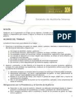 ESTATUTO DE AUDITORIA INTERNA
