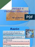 Unidad 4 Proporcionalidad