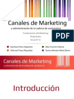 Canales Del Marketing