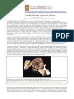 Funghi medicinali e cancro