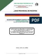 Bases Integradas Amc Nº 009-2011 - 2da Convocatoria