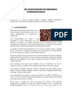 Trabajo de Investigación de Mercados Internacionales