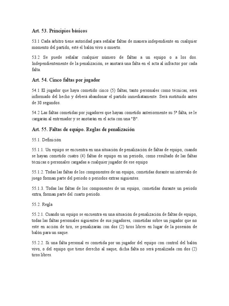 Regla 8 Del Baloncesto.