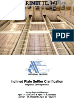 7 - Inclined Plate Settler Clarification